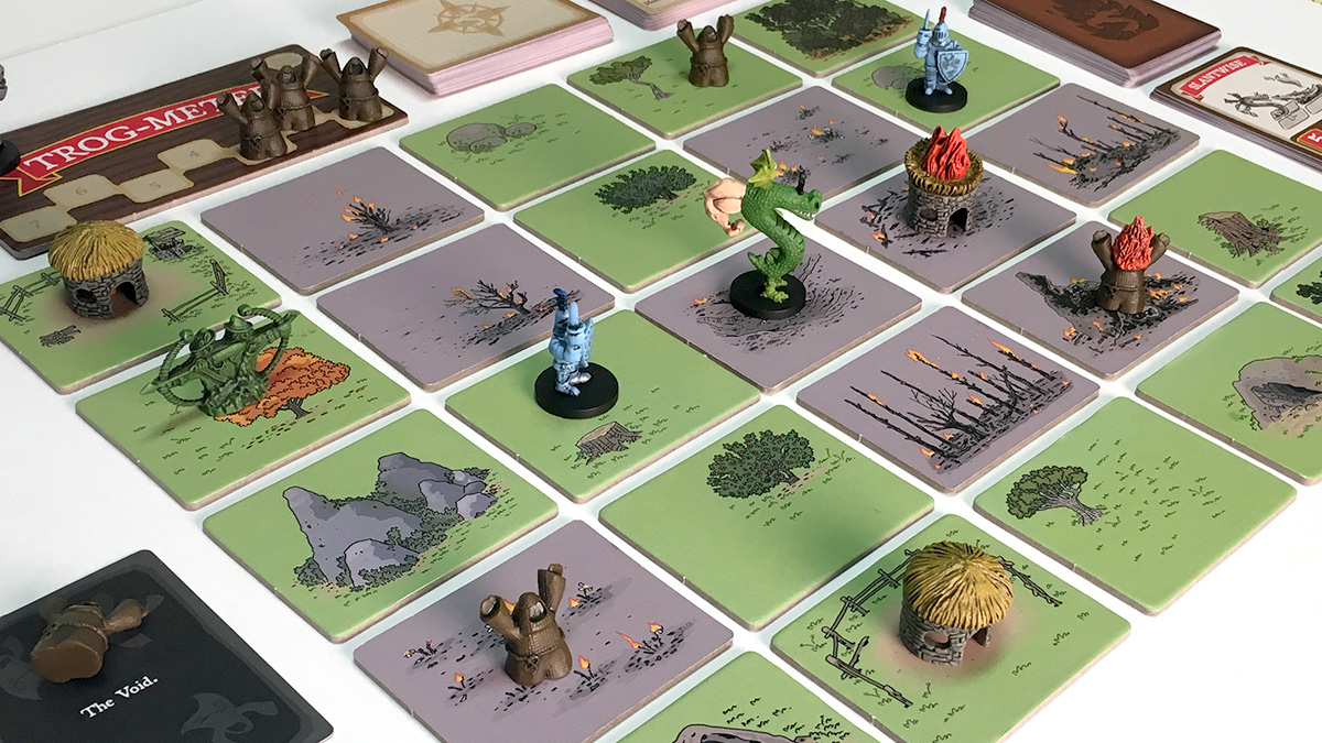 Trogdor!! The Board Game! Exclamation Point!